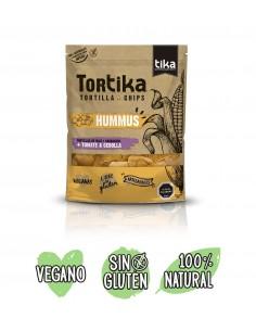Tortika Hummus/Tomate  REG-654  SUPERMERCADO