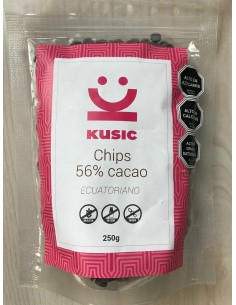Chocolate CHIPS 56%  KUSIC-001  Inicio