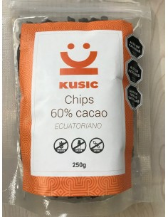 Chocolate Chips 60%  KUSIC-003  Inicio