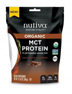 MCT Plant Protein Chocolate  NUTI-909  SUPLEMENTOS NUTRICIONALES PROFESIONALES