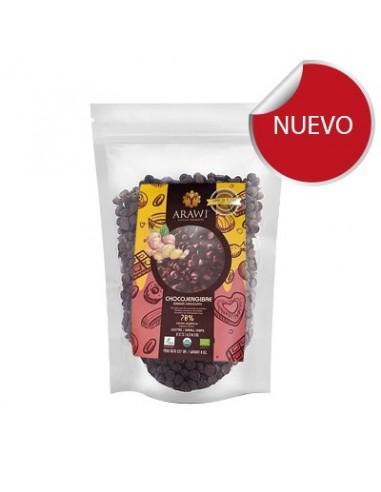 Chocolate Chips 70% Jengibre  ARAW-020  Inicio