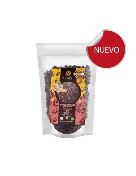 Chocolate Chips 70% Jengibre
