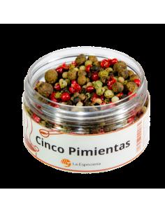 5 Pimientas  SAZO-029  SUPERMERCADO
