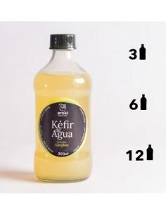 Kefir de Agua Limon Jengibre  AROKI-008  SUPERMERCADO