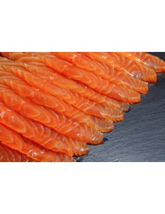 Thin Sliced Smoked Salmon  YAHGAN-007  CARNES (SOLO RM)