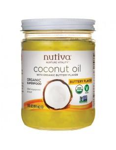 Aceite Coco Sabor Mantequilla  NUTI-011  SUPERMERCADO