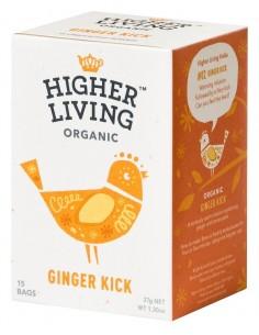Infusion Org Ginger Kick  HL-002  SUPERMERCADO