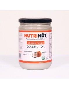 Aceite de Coco Org Virgen 1 L  NUTRI-001  ACEITES Y VINAGRES