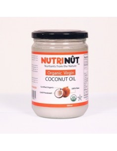 Extra Virgin Coconut Oil 1 L  NUTRI-001  ACEITES Y VINAGRES