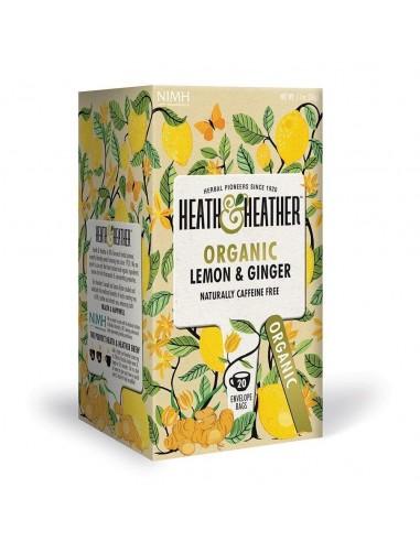 Organic Lemon & Ginger  HH-007  DESPENSA GOURMET