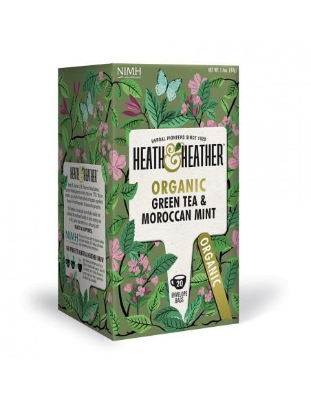 Organic Green Tea Moroccan Mint