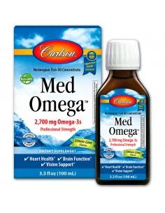 Med Omega Fish Oil Lemon-Lime  CARL-005  Aceite de Pescado