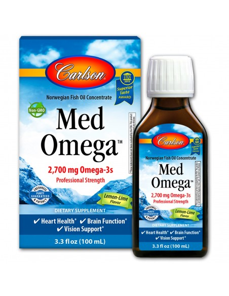 Med Omega Fish Oil Lemon-Lime