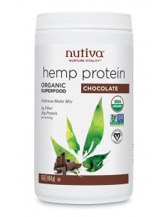 Hemp Protein Powder Chocolate  NUTI-002  SUPLEMENTOS NUTRICIONALES PROFESIONALES