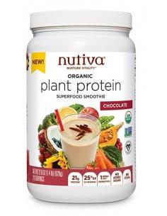 ORG Plant Protein Chocolate  NUTI-500  SUPLEMENTOS NUTRICIONALES PROFESIONALES
