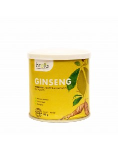 Ginseng en Polvo 80 g  REG-520  PRODUCTOS KETO