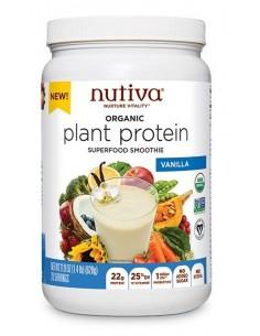 ORG Plant Protein Vainilla  NUTI-700  SUPLEMENTOS NUTRICIONALES PROFESIONALES