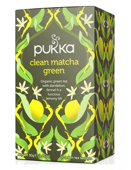 Clean Matcha Green