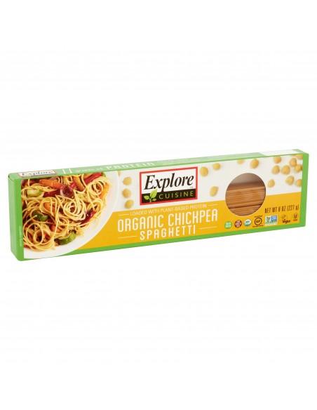 Spaghetti Org Garbanzos