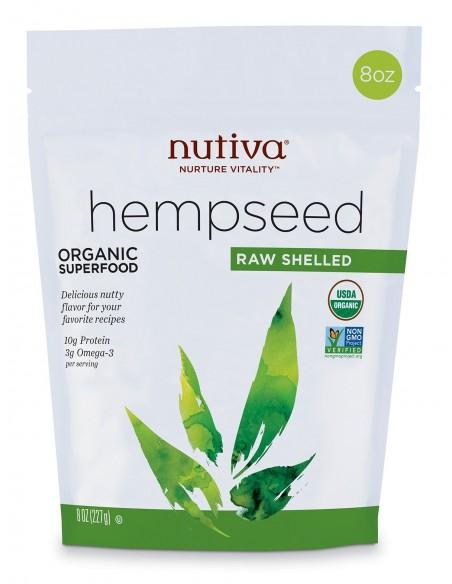 Organic Shelled Hempseed