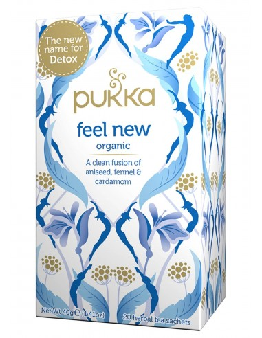 Infusion Organica Feel New  PUK-030  SUPERMERCADO