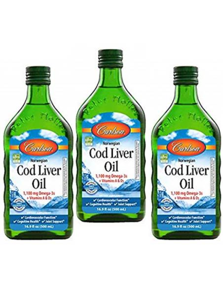 3-Pack Cod Liver Oil