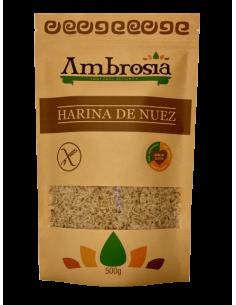 Harina Nuez S/Gluten 500 g  AMB-014  SUPERMERCADO