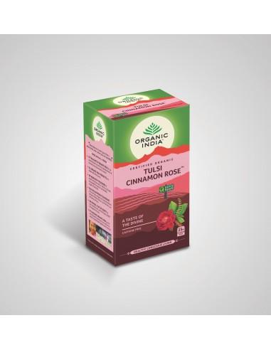 Tulsi Canela y Rosa Organico  OI-006  SUPERMERCADO