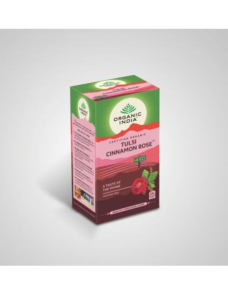 Tulsi Canela y Rosa Organico