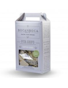 Pita Chip Chlorella Matcha 200 g  BOCA-006  SUPERMERCADO