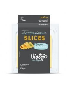 Queso Cheddar Vegano  VIO-004  VEGANO PERECIBLES