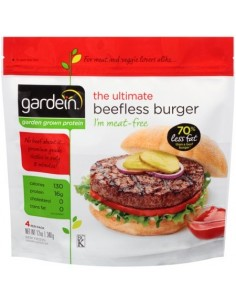 Hamburguesa Vegana Suc. Carne  GARD-004  VEGANO PERECIBLES