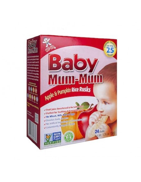 Galletas para Bebe Manzana