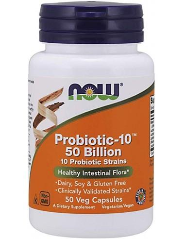 Probiotic-10 ™ 50 Bill  NOW-003  Inicio