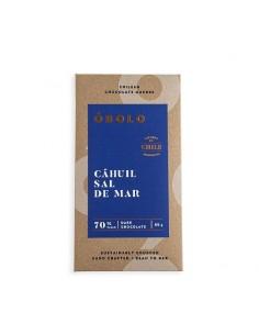 Chocolate sal Cahuil 70%  OBOLO-107  SUPERMERCADO
